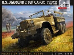 Mirror Models US Diamond T 968 Cargo Truck with Open Cab | 35805