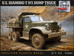 Mirror Models US Diamond T 972 Dump Truck Hardtop | 35804