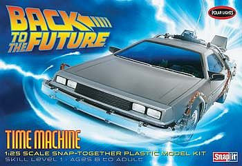 Polar Lights 1/25 Back to the Future Time Machine SnapIt | 911/12