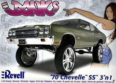 Revell 1/24 1970 Chevelle Donk Custom | REV85-2058