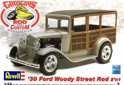 Revell 1/24 1930 Ford Woody Street Rod | REV85-2064
