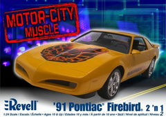 Revell 1/24 1991 Pontiac Firebird 2in1 | REV85-2068