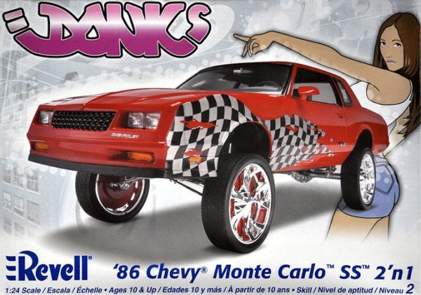 Revell 1/24 1986 Chevy Monte Carlo SS 2in1 | REV85-2081