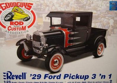 Revell 1/25 1929 Ford Pickup Street Rod 3in1 | REV85-2085