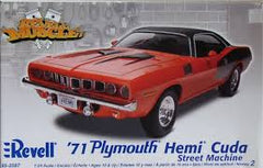 Revell 1/24 '71 Plymouth Hemi Cuda (Street Machine) | REV85-2087