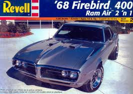 Revell 1/25 1968 Firebird 400 Ram Air 2 'n 1 | REV85-2342