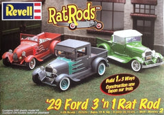 Revell 1/25 '29 Ford 3 'n 1 Rat Rod Rat Rods | REV85-2348