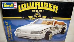 Revell 1/24  1992 Mustang GT Convertible - Lowrider Magazine | REV85-2888