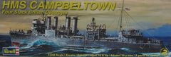 Revell 1/240 HMS Campbeltown Four Stack British Destroyer | REV85-3016