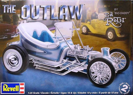 Revell 1/25 Ed Roth The Outlaw | REV85-4294