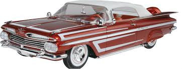 Revell 1/25 '59 Chevy Impala Convertible 2'n1 | REV85-4944