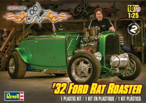 Revell 1/25 Stacey David's 1932 Ford Rat Roaster | REV85-4995