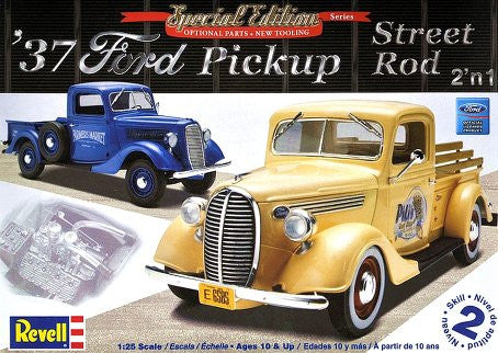 Revell 1/25 1937 Ford Pickup Street Rod | REV85-7208