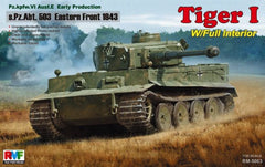 Rye Field Model 1/35 Tiger I Early Production (Full Interior)  | 5003