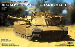 Rye Field Model 1/35 1/35 M1A2 SEP Abrams TUSK I/TUSK II/M1A1 TUSK (3 in 1) | 5004