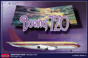 Roden 1/44 Boeing 720 Starship One | 314