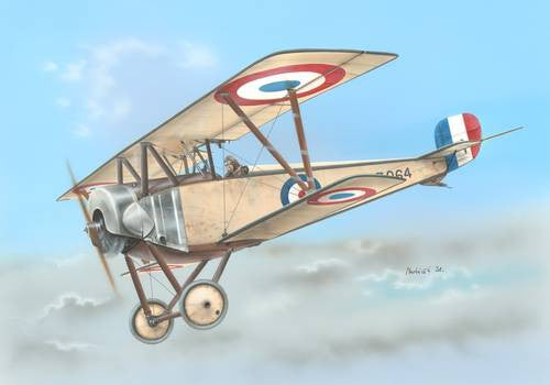 Special Hobby 1/48 Nieuport 10 Single Seater Version | SH48082