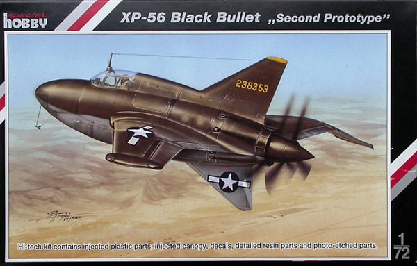 Special Hobby 1/72 XP-56 Black Bullet Second Prototype | SH72132