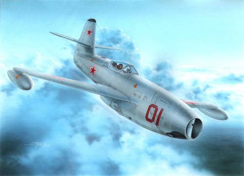 "Special Hobby 1/72 Yakovlev Yak-23 Flora ""Red and White stars"" 