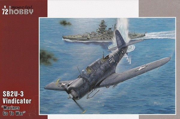 "Special Hobby 1/72 SB2U-Vindicator ""Marines Go To War"" 