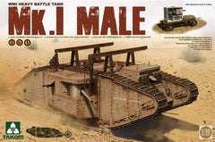 Takom 1/35 WWI Mk.I Male Heavy Battle Tank (2 in 1) | 2031