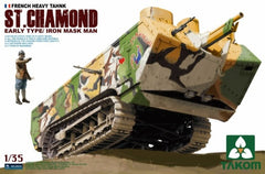 Takom 1/35 French Heavy Tank St Chamond Early Type | 2002
