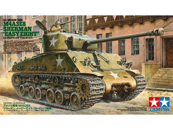 "Tamiya 1/35 US M4A3E8 Sherman ""Easy Eight"" - European Theater 
