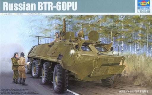 Trumpeter 1/35 Russian BTR-60PU Armored Command Vehicle | 01576