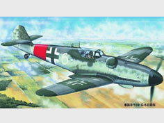 Trumpeter 1/24 Messerschmitt Bf109 G-6 late version | TRUM02408