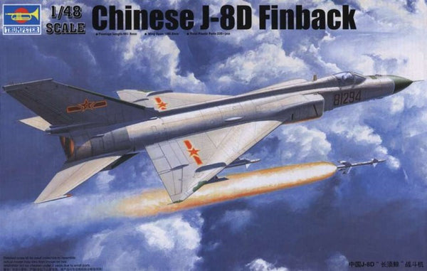Trumpeter 1/48 Chinese J-8D Finback | TRUM02846