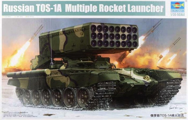 Trumpeter 1/35 Russian TOS-1A Multiple Rocket Launcher | TRUM05582