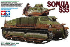 Tamiya 1/35 French Somua S-35 Medium Tank | 35344