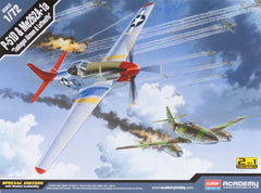 Academy 1/72 P-51D Red Tails and Me262A-1a | 12435