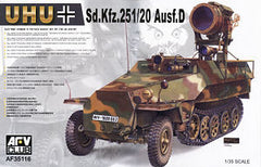 AFV Club 1/35 Sd.Kfz.251/20 Ausf. D Night Fight | AF35116
