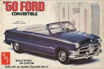 AMT 1/25 '50 Ford Convertible | AMT38451