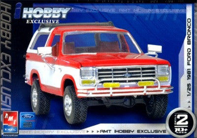 AMT 1/25 Ford Bronco 4x4 Roadster | AMT38567