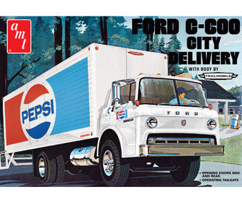 AMT 1/25 Ford C600 Pepsi City Delivery Truck | AMT804