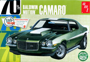 AMT 1/25 70 1/2 Baldwin Motion CAMARO Moldes in Green | AMT855