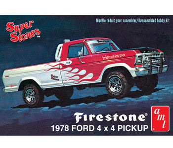 AMT 1/25 Firestone 1978 Ford 4x4 Pickup | AMT858