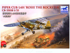 "Bronco 1/35 Piper Cub L4H ""Rosie the Rocketer"" 