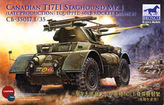 Bronco 1/35 Canadian T17E1 Staghound Mk.I  | CB35017