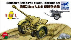 Bronco 1/35 German 2.8cm s.Pz.B.41 Anti-Tank Gun   | CB35034