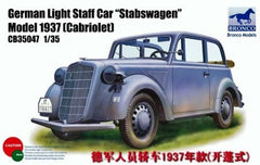 Bronco 1/35 German Light Staff Car Stabswagen  | CB35047
