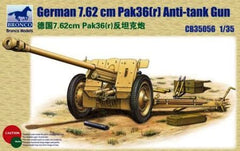 Bronco 1/35 German 7.62cm Pak36(r) Anti Tank Gun  | CB35056