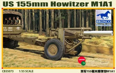Bronco 1/35 US 155mm Howitzer M1A1 | CB35073