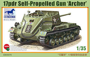 Bronco 1/35 17pdr Self-Propelled Gun 'Archer' | CB35074
