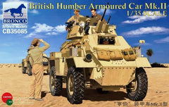 Bronco 1/35 British Humber Armoured Car Mk.II  | CB35085