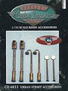 Custom Dioramics 1/35 Urban Street Accessories  | 6033