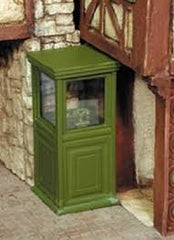 Custom Dioramics 1/35 European Phone Booth #1  | 6059