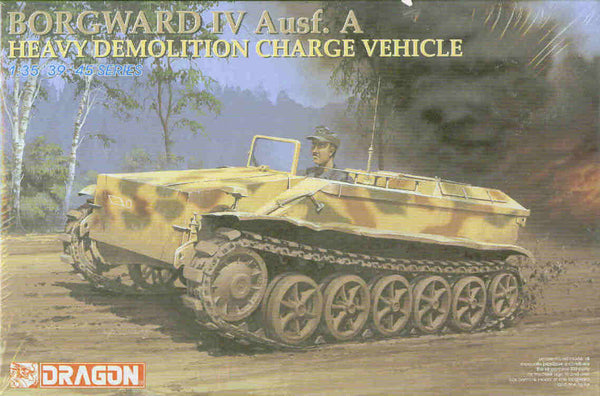 Dragon 1/35 Borgward I Ausf.A Heavy Demolition Charge Vehicle | 6101